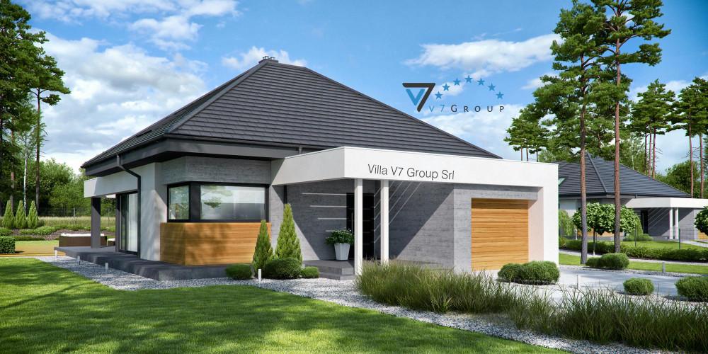 Immagine Villa V55 (progetto originale) - presentazione della Villa V54