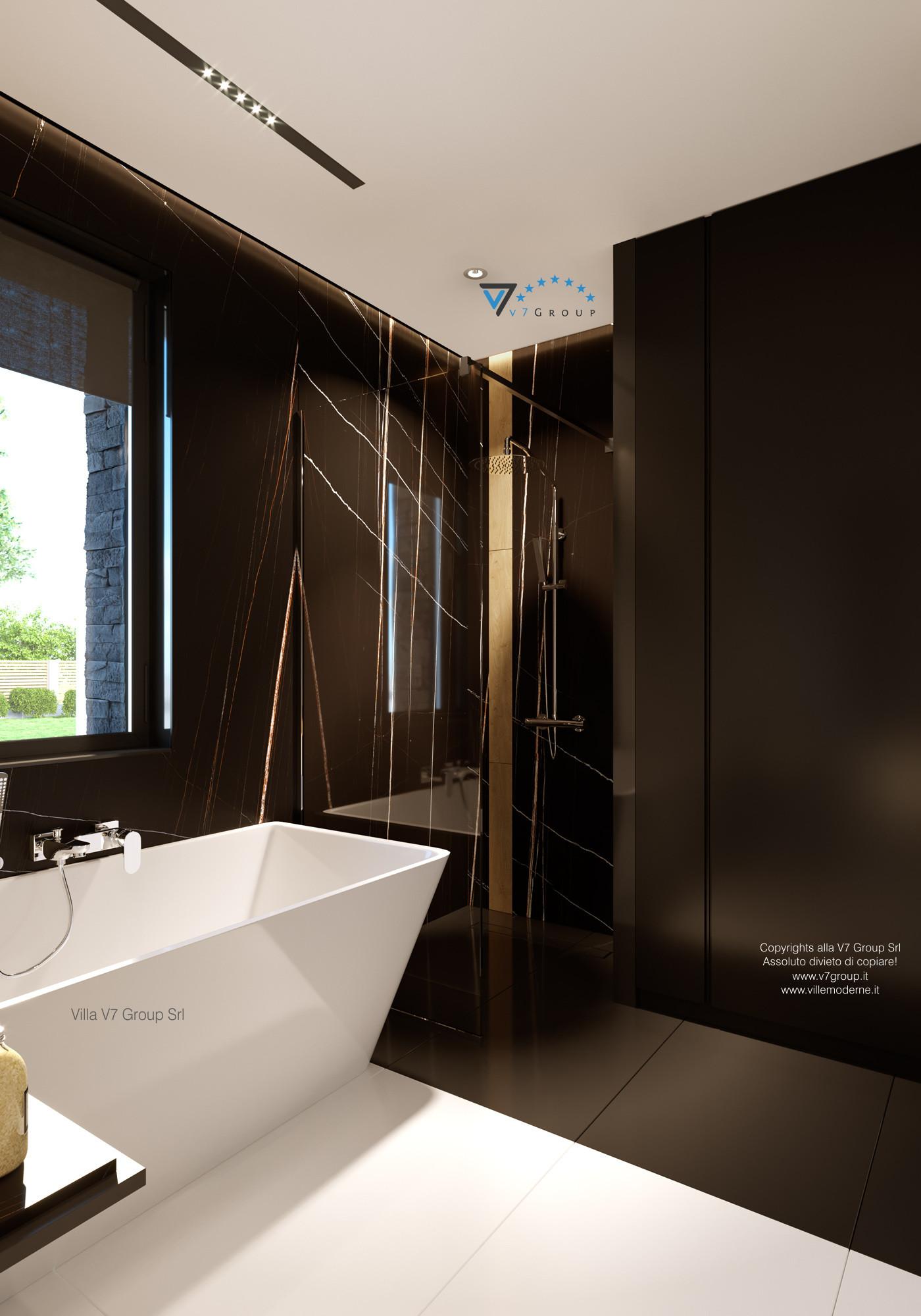 Immagine Villa V55 (progetto originale) - interno 10 - bagno