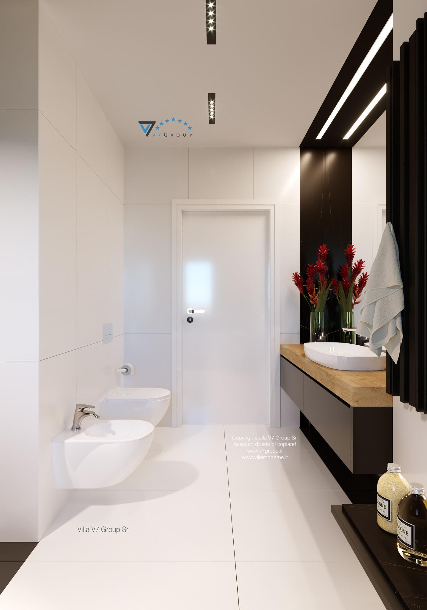 Immagine Villa V55 (progetto originale) - interno 11 - bagno