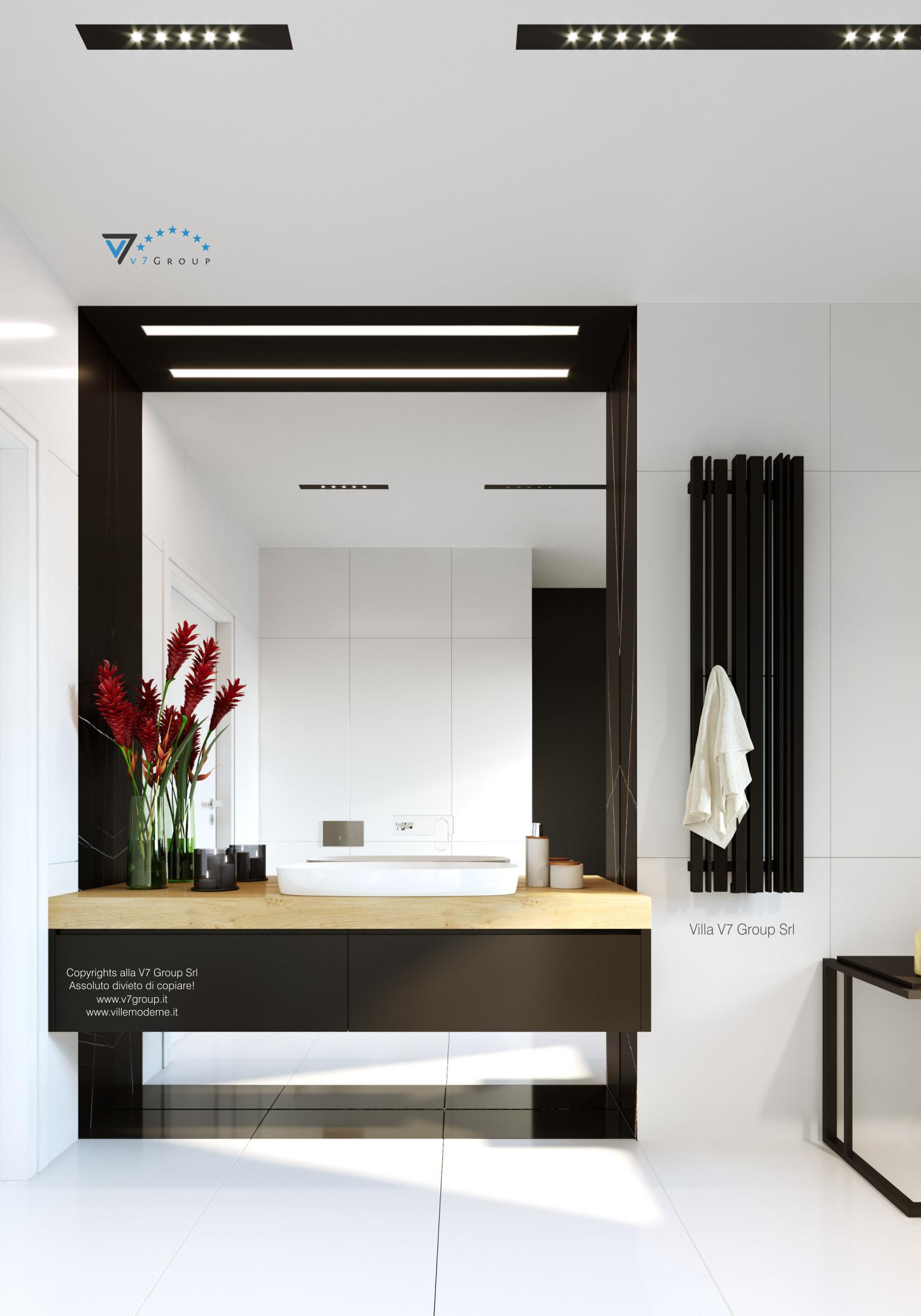 Immagine Villa V55 (progetto originale) - interno 12 - bagno