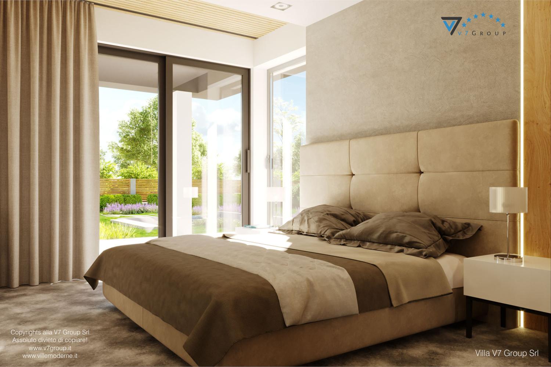 Immagine Villa V55 (progetto originale) - interno 6 - camera matrimoniale