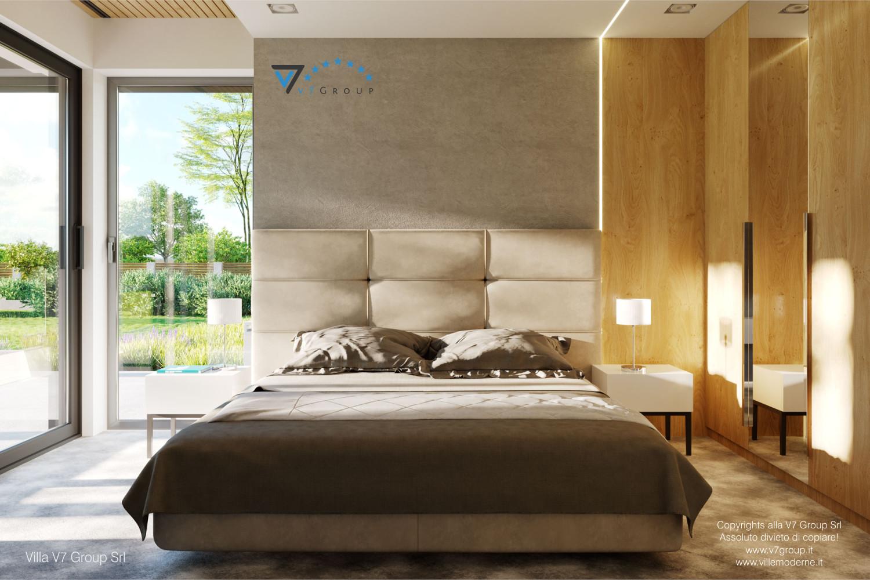 Immagine Villa V55 (progetto originale) - interno 7 - camera matrimoniale
