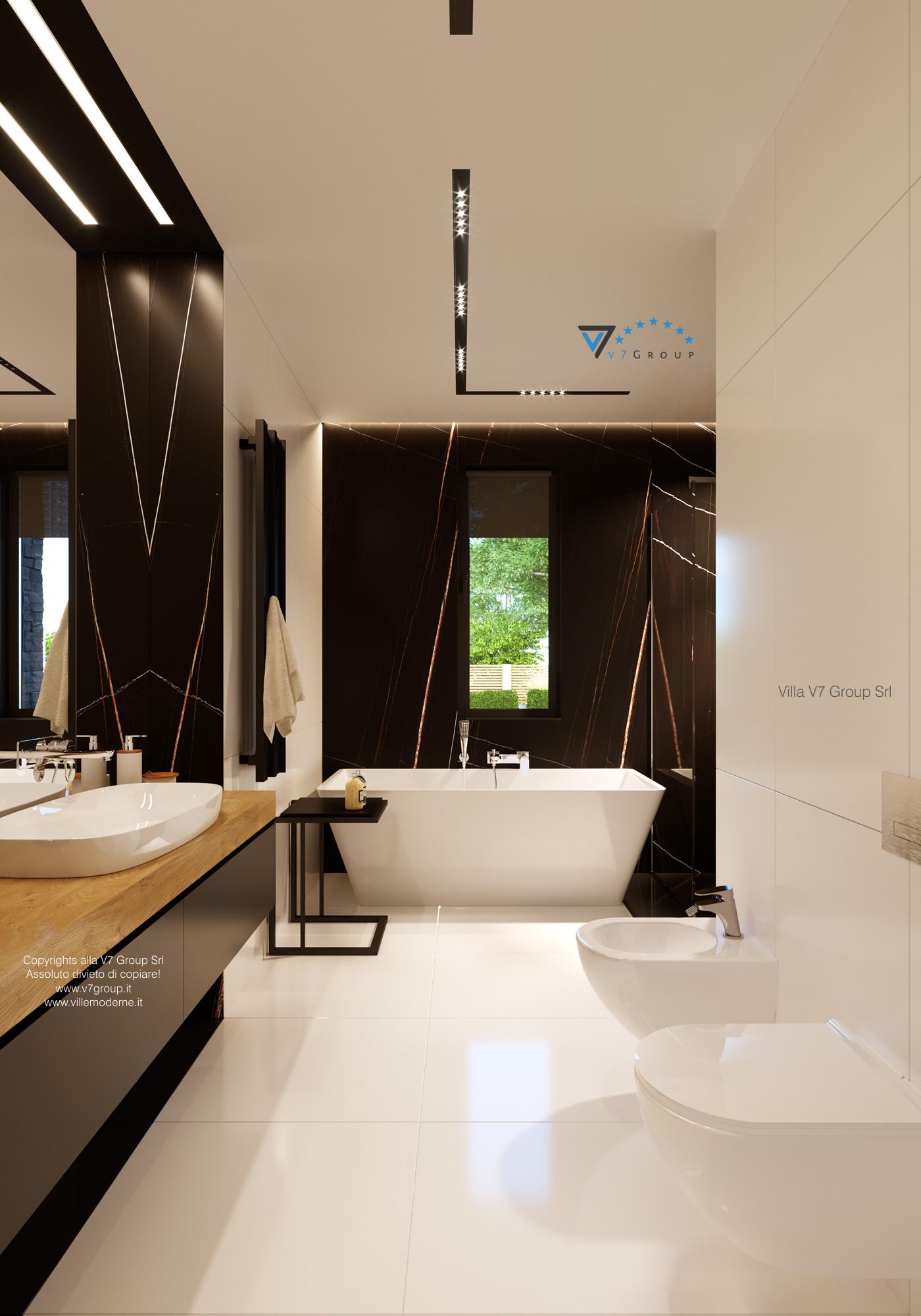 Immagine Villa V55 (progetto originale) - interno 9 - bagno