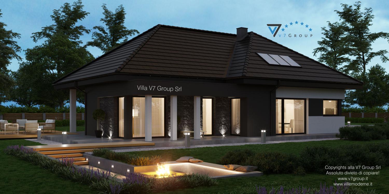Immagine Villa V55 (progetto originale) - vista laterale grande