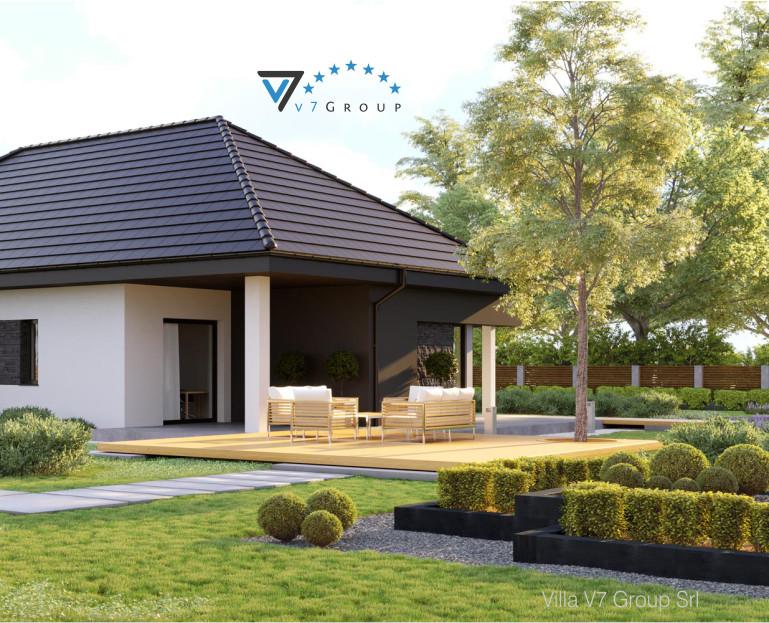 Immagine Villa V55 (progetto originale) - vista terrazzo esterno piccola