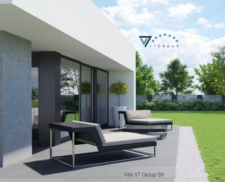 Immagine Villa V56 - vista giardino - dettaglio