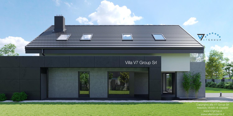 Immagine Villa V56 (progetto originale) - vista laterale grande