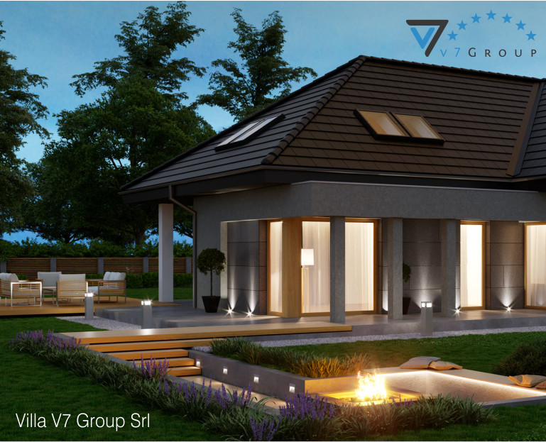 Immagine Villa V57 - vista terrazzo esterno piccolo