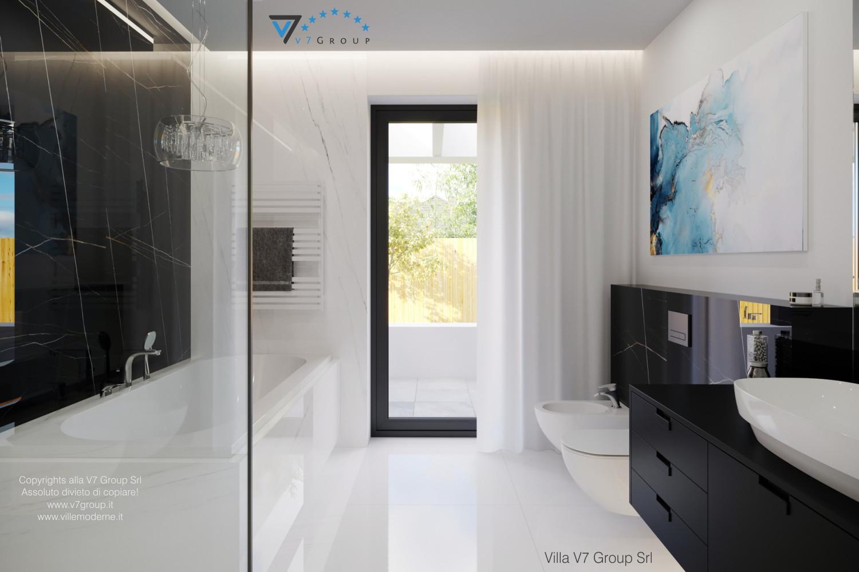 Immagine Villa V58 (progetto originale) - porta balcone in bagno