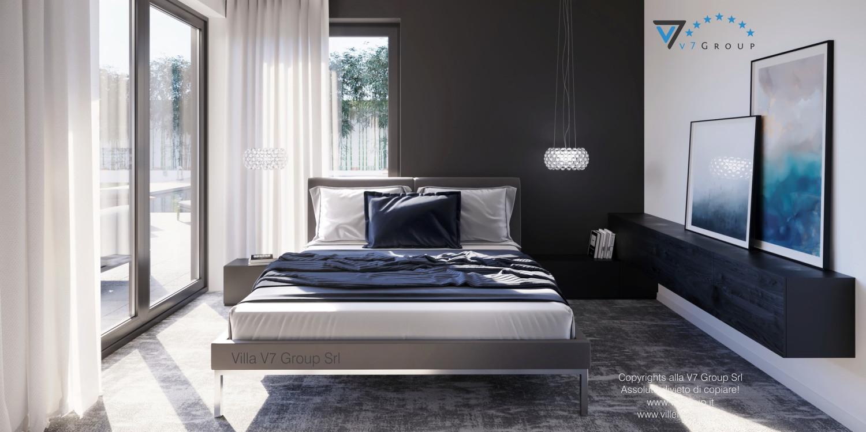 Immagine Villa V58 (progetto originale) - il letto matrimoniale