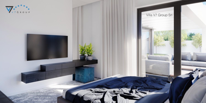 Immagine Villa V58 (progetto originale) - i mobili in camera matrimoniale