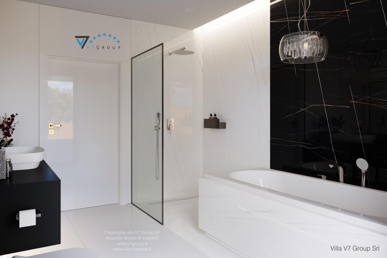 Immagine Villa V58 (progetto originale) - la cabina doccia