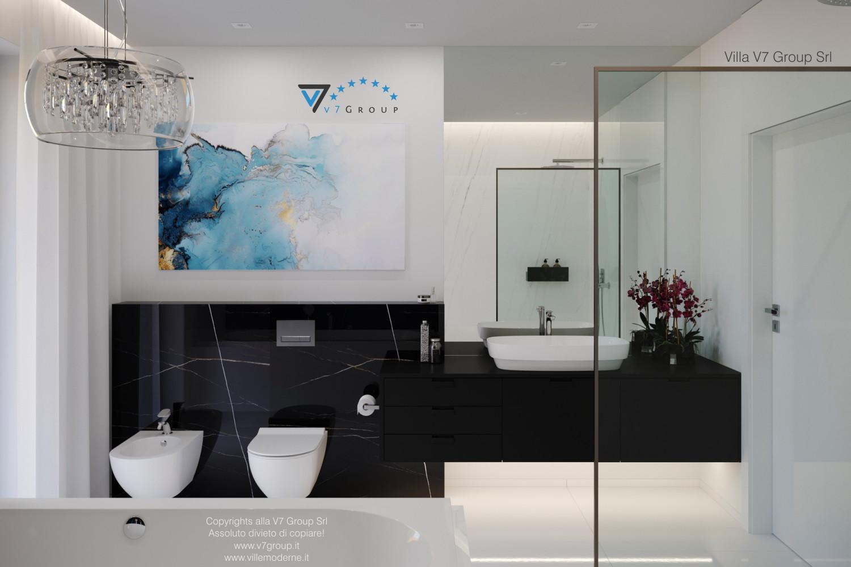 Immagine Villa V58 (progetto originale) - i sanitari in bagno