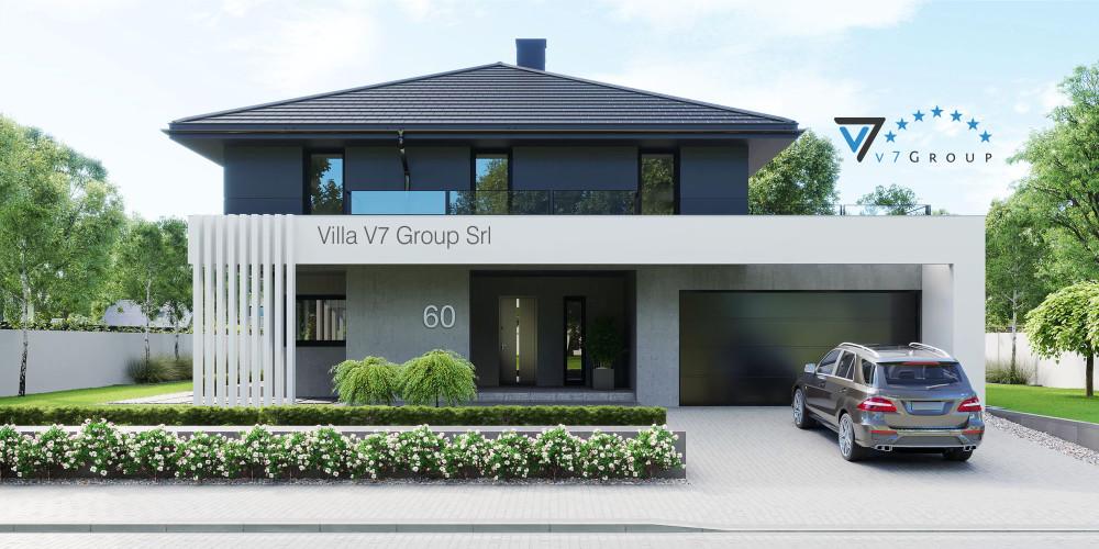 Immagine Villa V59 (progetto originale) - la presentazione della Villa V60