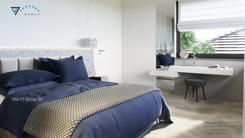 Immagine Villa V59 (progetto originale) - il letto al centro