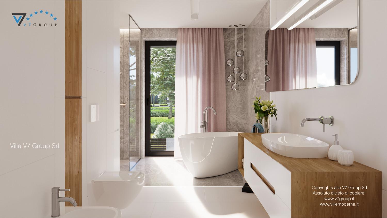 Immagine Villa V59 (progetto originale) - la vasca da bagno