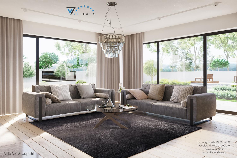 Immagine Villa V59 (progetto originale) - interno 4 - soggiorno
