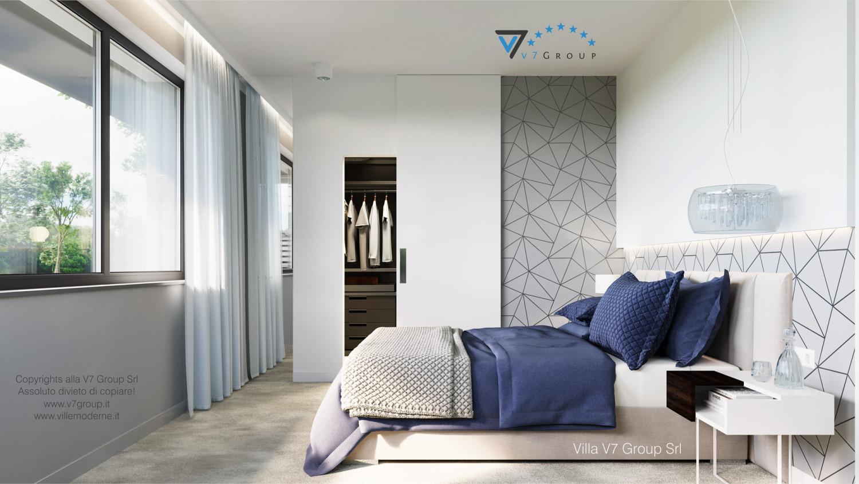 Immagine Villa V59 (progetto originale) - interno 7 - camera matrimoniale