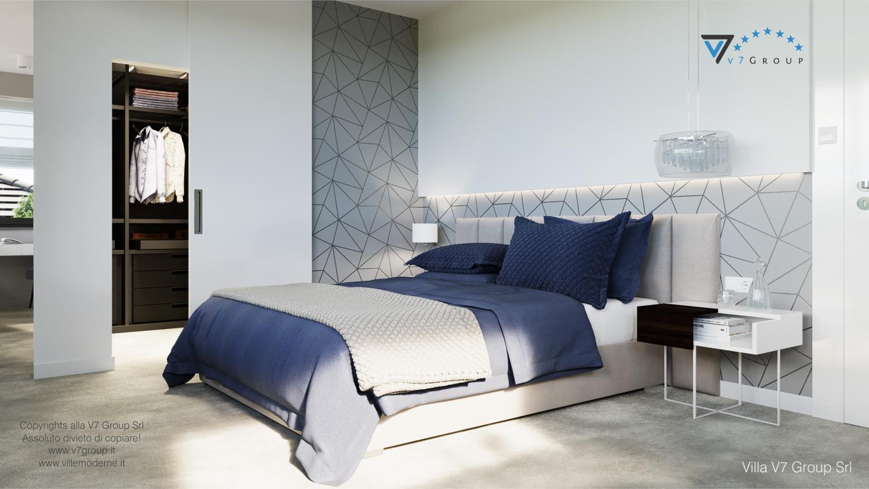 Immagine Villa V59 (progetto originale) - interno 8 - camera matrimoniale