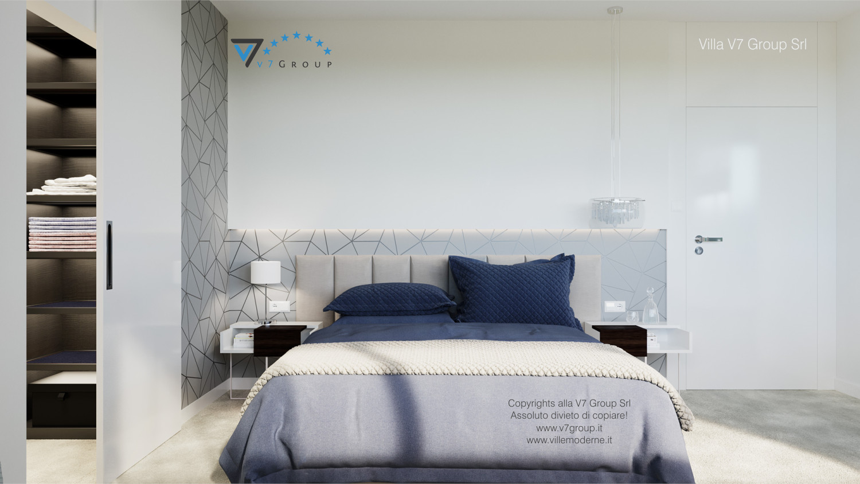 Immagine Villa V59 (progetto originale) - il letto matrimoniale