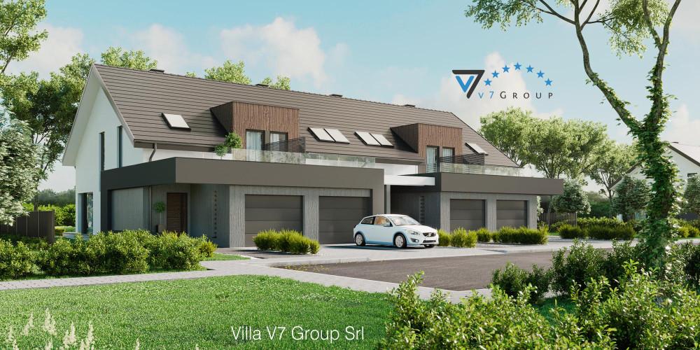 Immagine Villa V60 (progetto originale) - la presentazione della Villa V61 (B2)
