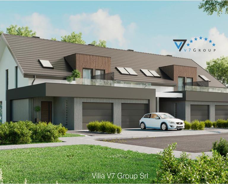 Immagine Villa V61 (B2) - la parte frontale ingrandita