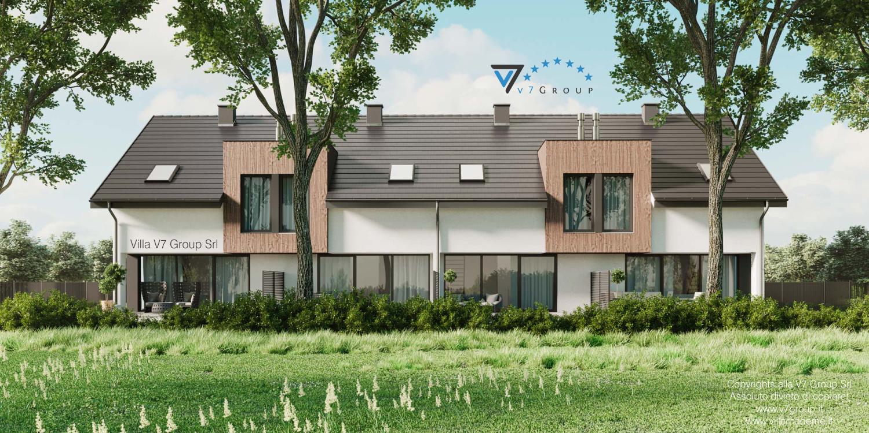 Immagine Villa V61 (B2) - vista giardino esterno grande