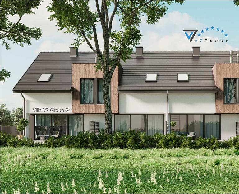 Immagine Villa V61 (B2) - vista giardino esterno piccola