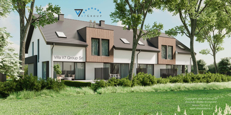 Immagine Villa V61 (B2) - il giardino della villa
