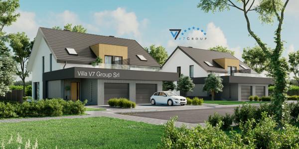 Immagine Nostre Ville - la parte frontale di Villa V61 (B)