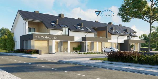 Immagine Ville di V7 Group Srl - la parte frontale di Villa V63 (B2)