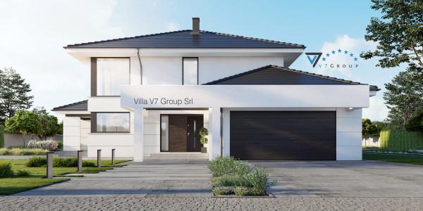 Immagine Ville di V7 Group Srl - la parte frontale di Villa V64