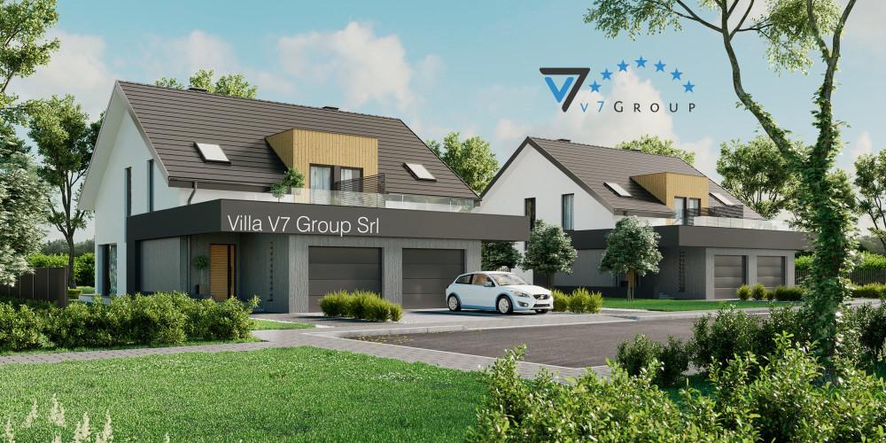 Immagine Villa V60 (progetto originale) - presentazione della Villa V61 (B)