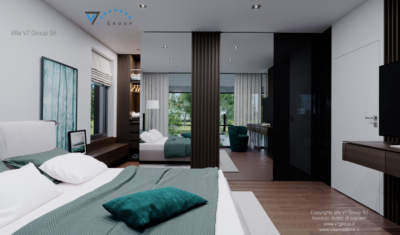 Immagine Villa V60 (progetto originale) - interno 10 - camera matrimoniale