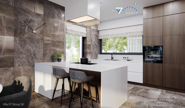 Immagine Villa V60 (progetto originale) - interno 5 - cucina