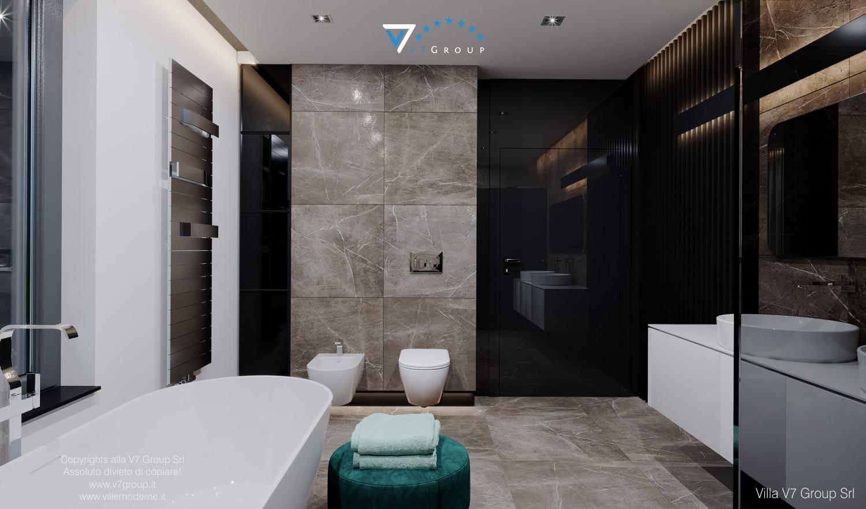 Immagine Villa V60 - il design del bagno padronale