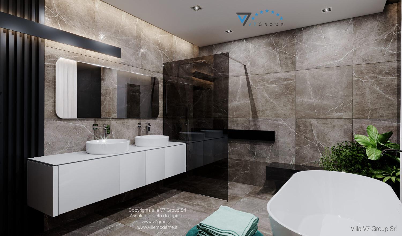 Immagine Villa V60 - la doccia e la vasca da bagno grande