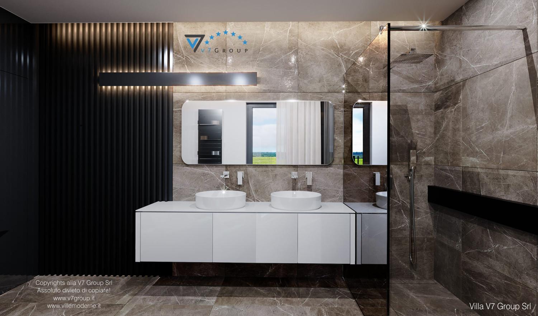 Immagine Villa V60 - gli specchi nel bagno padronale