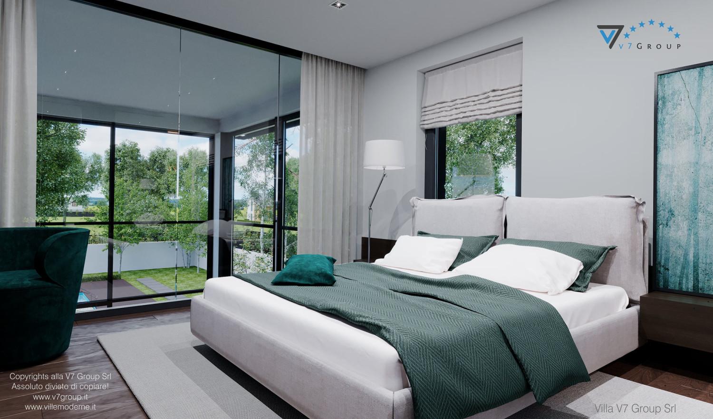 Immagine Villa V60 (progetto originale) - interno 9 - camera matrimoniale