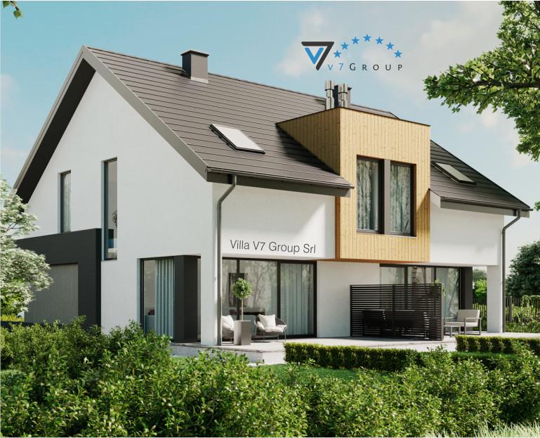 Immagine Villa V61 (B) - il dettaglio del terrazzo esterno della casa