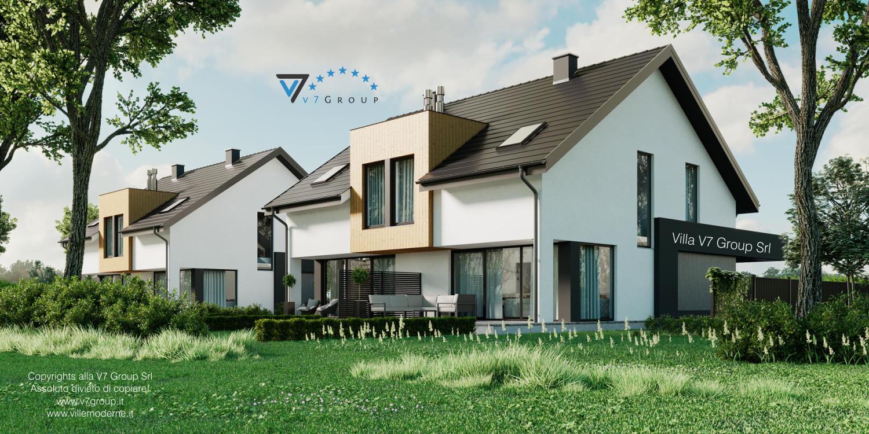 Immagine Villa V61 (B) - il terrazzo esterno della villa