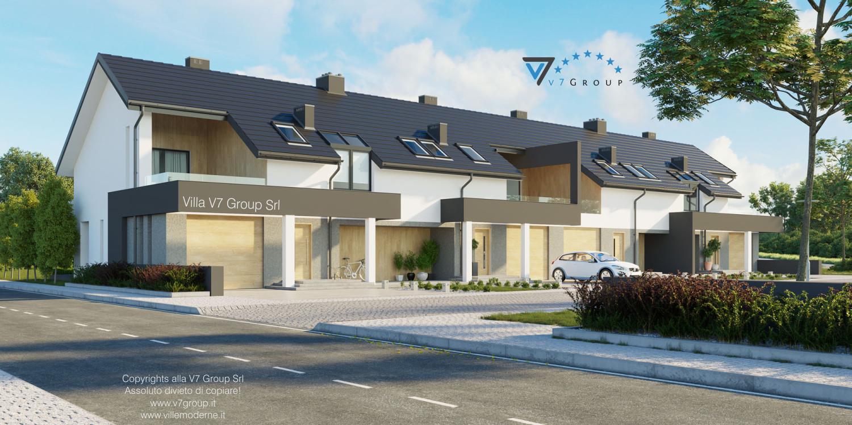 Immagine Villa V63 (B2) - vista frontale grande