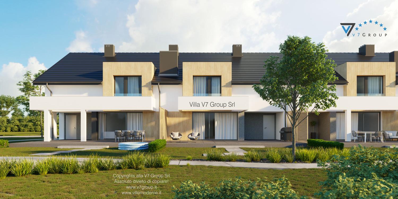 Immagine Villa V63 (B2) - vista giardino grande