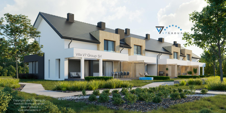Immagine Villa V63 (B2) - vista terrazzo esterno grande