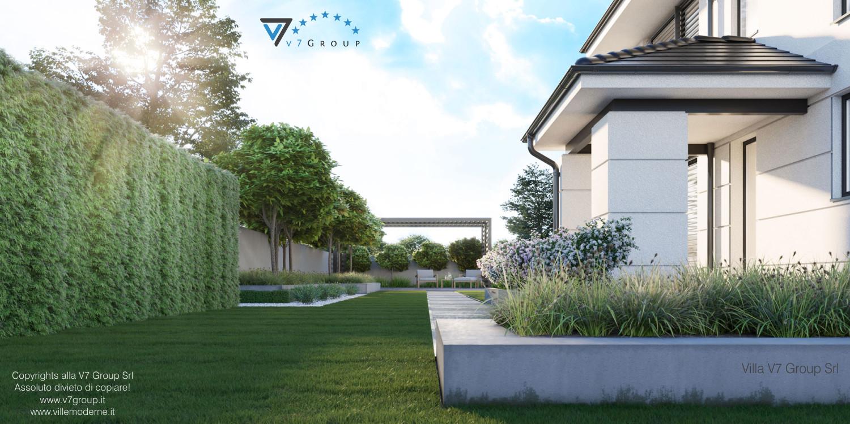 Immagine Villa V64 (progetto originale) - vista laterale grande