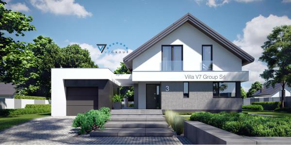 Immagine Ville di V7 Group Srl - la parte frontale di Villa V3