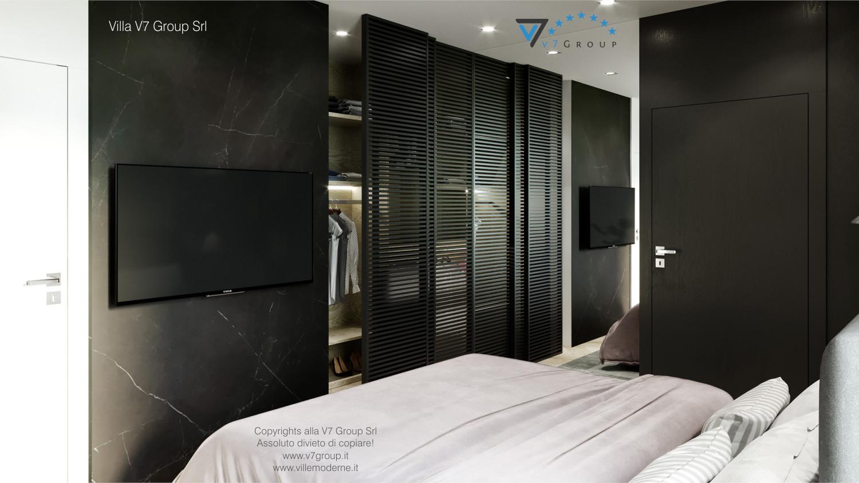 Immagine Villa V64 (progetto originale) - interno 11 - camera matrimoniale