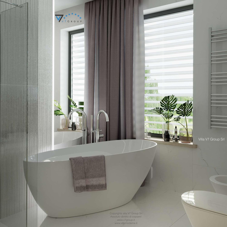 Immagine Villa V64 (progetto originale) - interno 13 - bagno