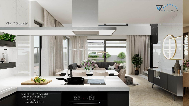 Immagine Villa V64 (progetto originale) - interno 5 - cucina