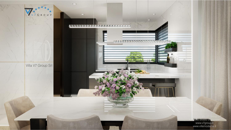Immagine Villa V64 (progetto originale) - interno 7 - sala da pranzo